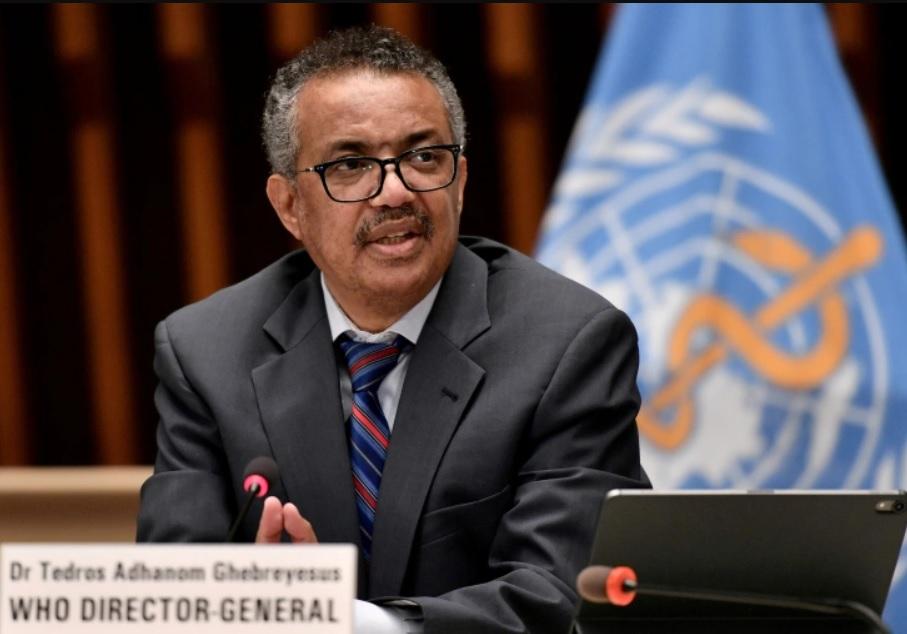 Dr. Tedros Adhanom Ghebreyesus WHO