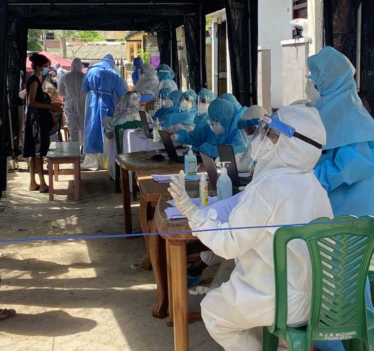 Twenty-six people found to be infected in Dematagoda