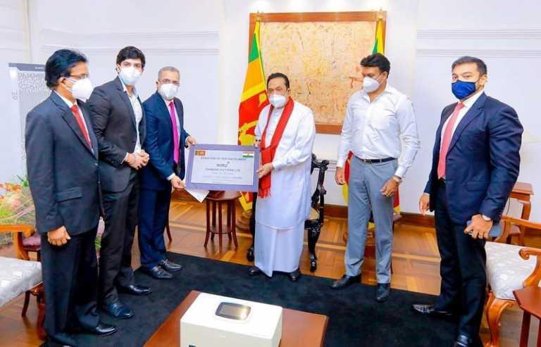 Niru Diamond Cutters, India donates Rs. 6.5 million PCR machine to Sri Lanka