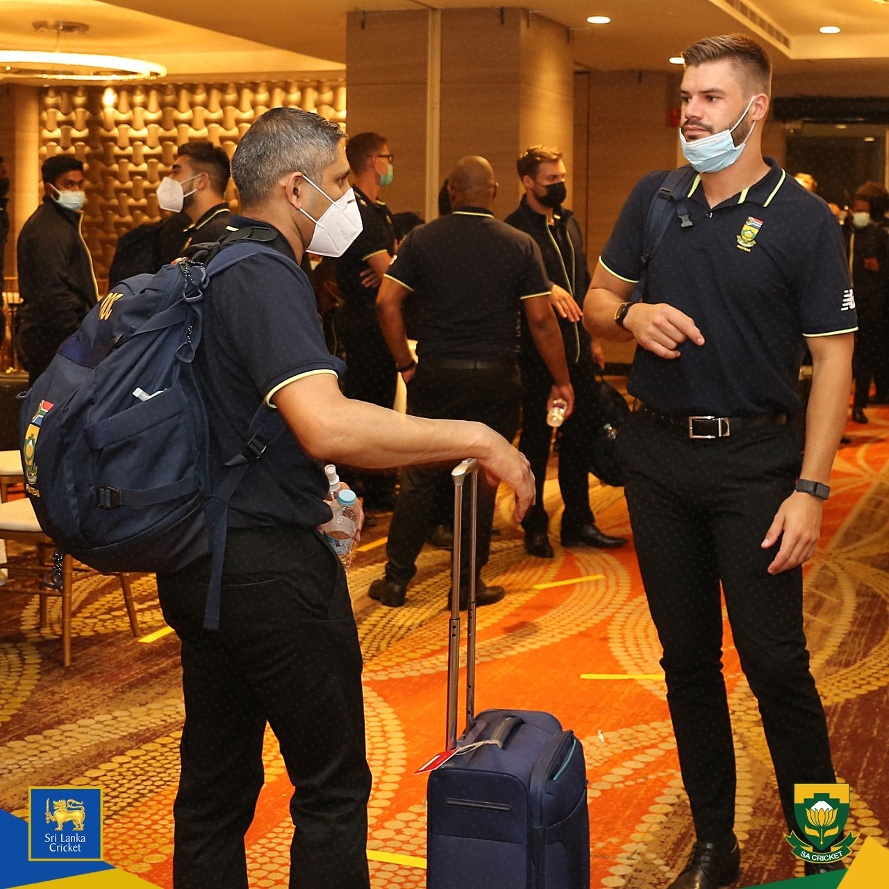 Proteas arrive in Sri Lanka for limited-overs tour | Colombo Gazette